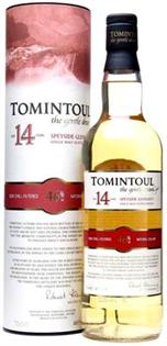 Tomintoul Scotch Single Malt Aged 14...